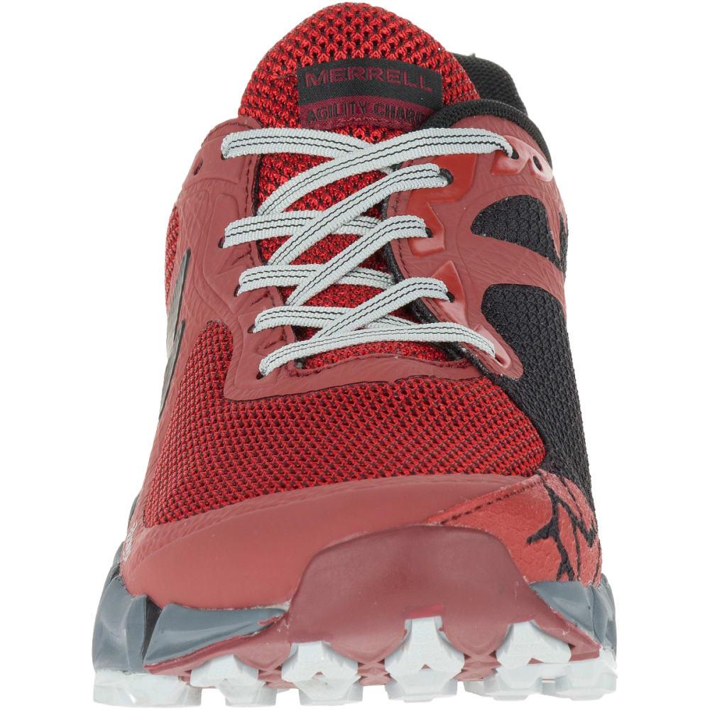 MERRELL Men's Agility Charge Flex Trail Running Shoes, Bossa Nova - BOSSA NOVA