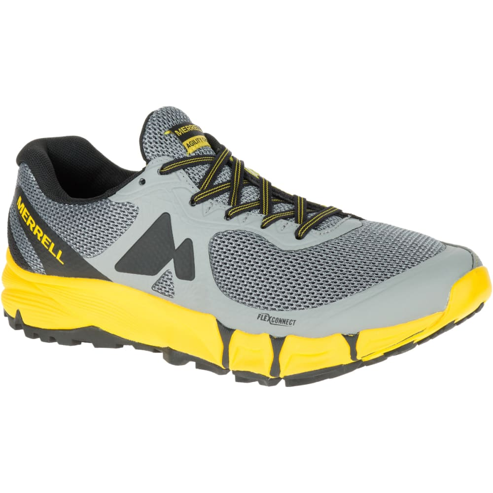 MERRELL Men's Agility Charge Flex Trail Running Shoes, Wild Dove - WILD DOVE