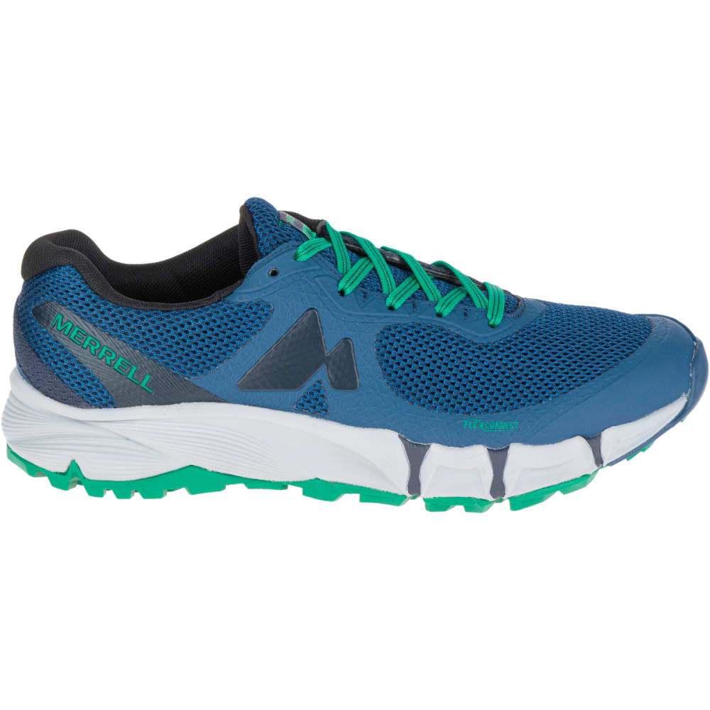 ... MERRELL Men's Agility Charge Flex Trail Running Shoes, Navy - ...