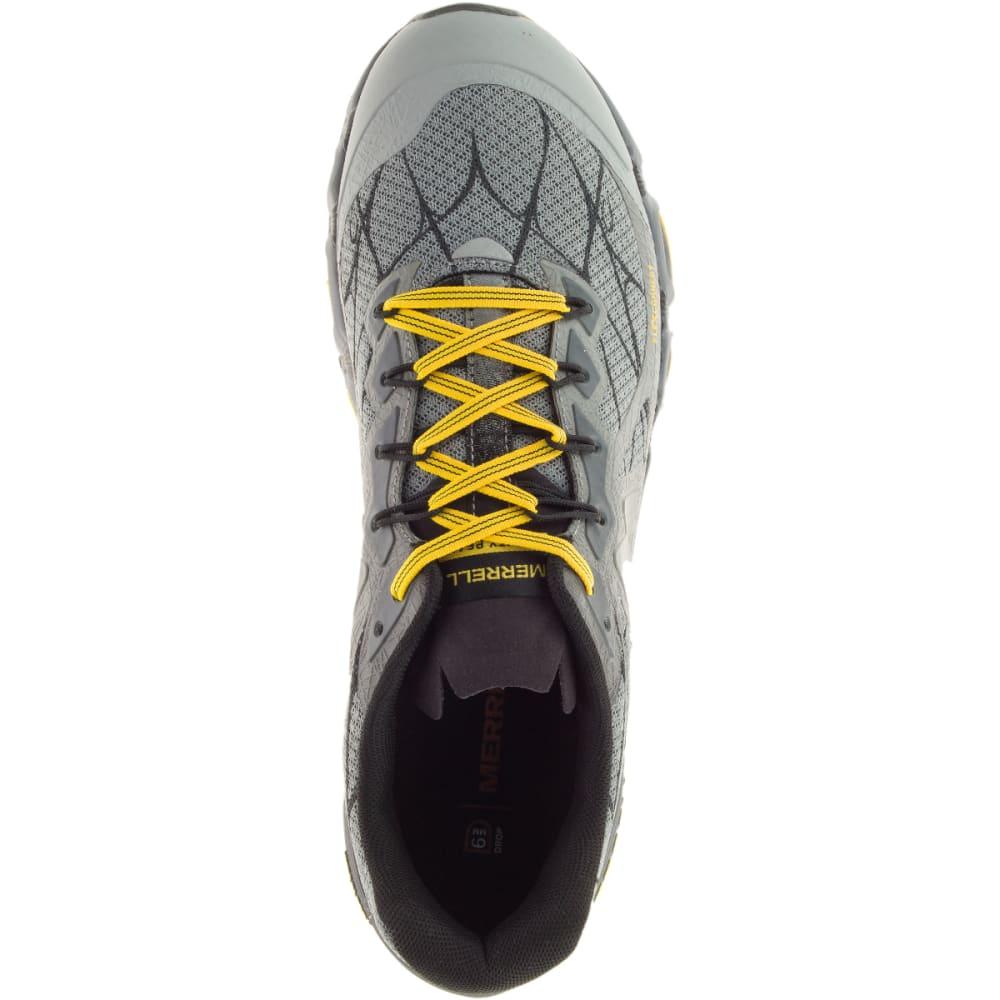 MERRELL Men's Agility Peak Flex Trail Running Shoes, Wild Dove - WILD DOVE