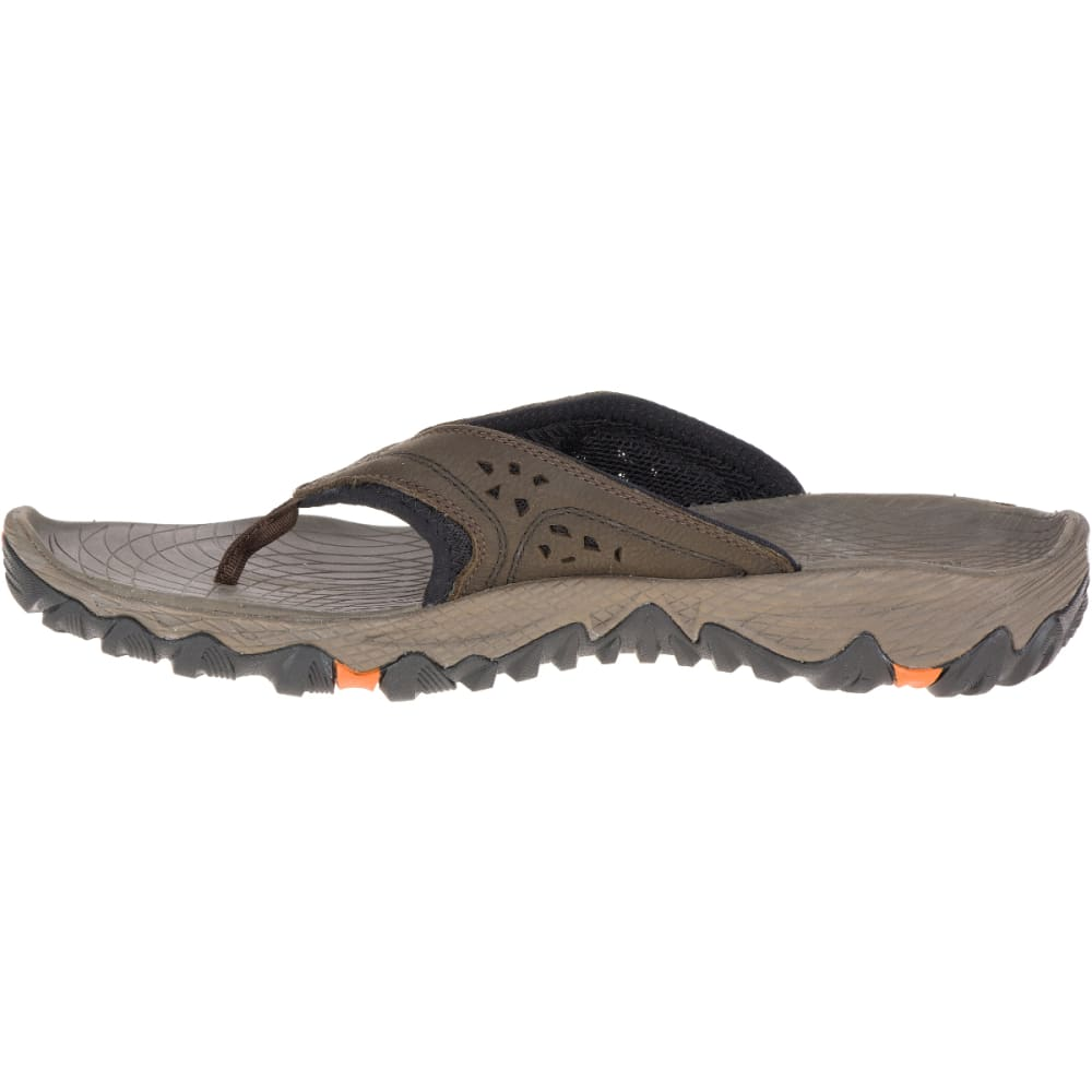 MERRELL Men's All Out Blaze Flip Sandals, Slate Black - SLATE BLACK