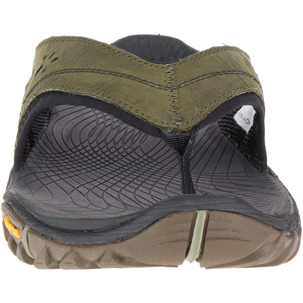 MERRELL Men's All Out Blaze Flip Sandals, Dusty Olive - DUSTY OLIVE