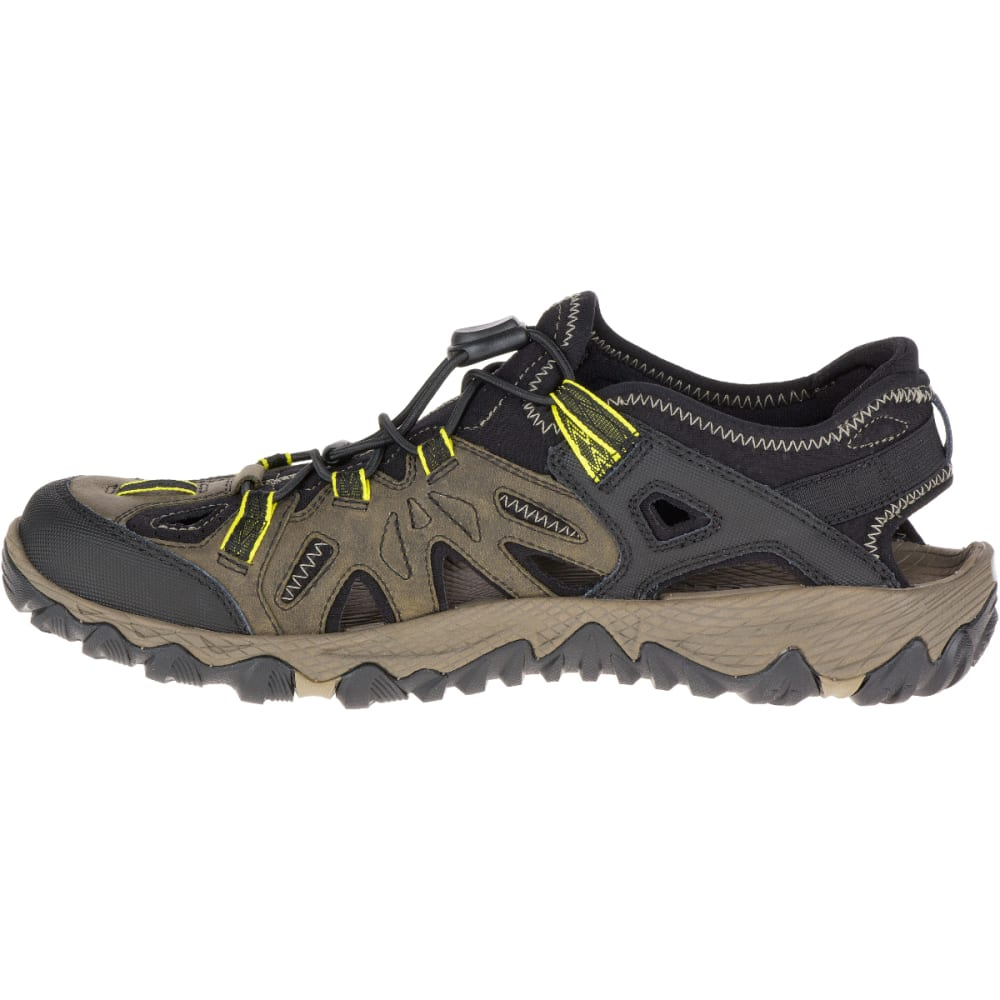 Merrell Men S All Out Blaze Sieve Hiking Sandals Olive