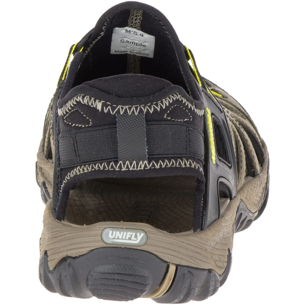 MERRELL Men's All Out Blaze Sieve Hiking Sandals, Olive Night - OLIVE NIGHT