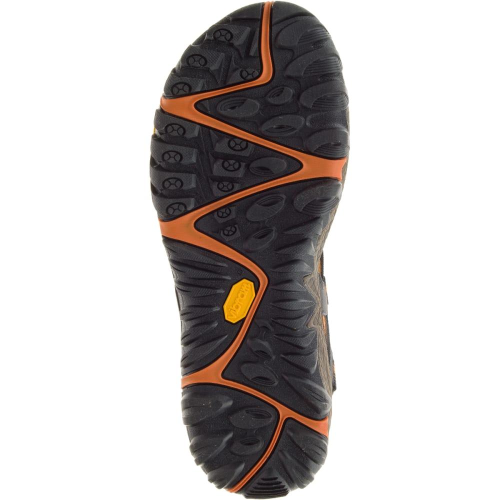 MERRELL Men's All Out Blaze Web Sandals, Slate Black - SLATE BLACK