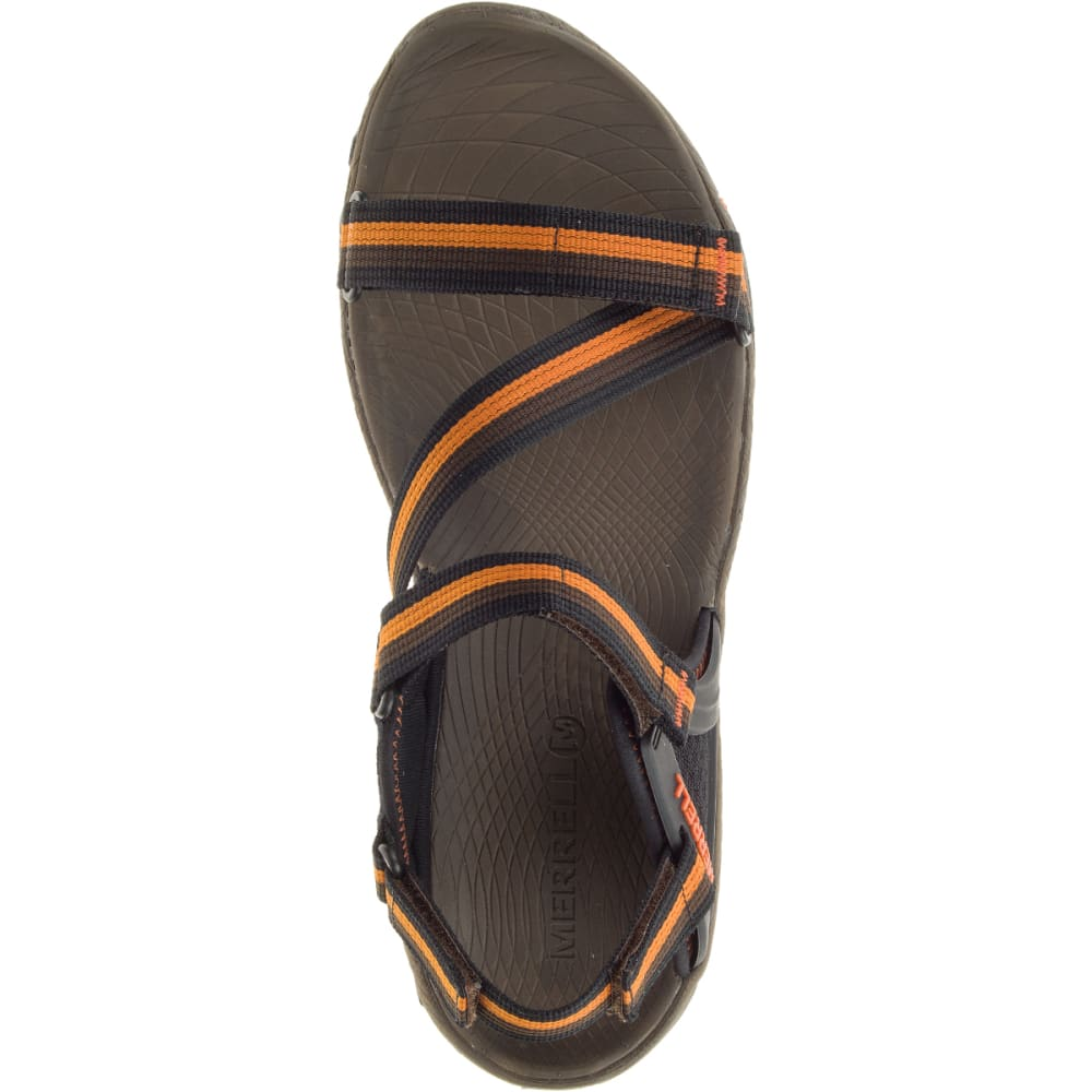 MERRELL Men's All Out Blaze Web Sandals, Slate Black - SLATE BLACK