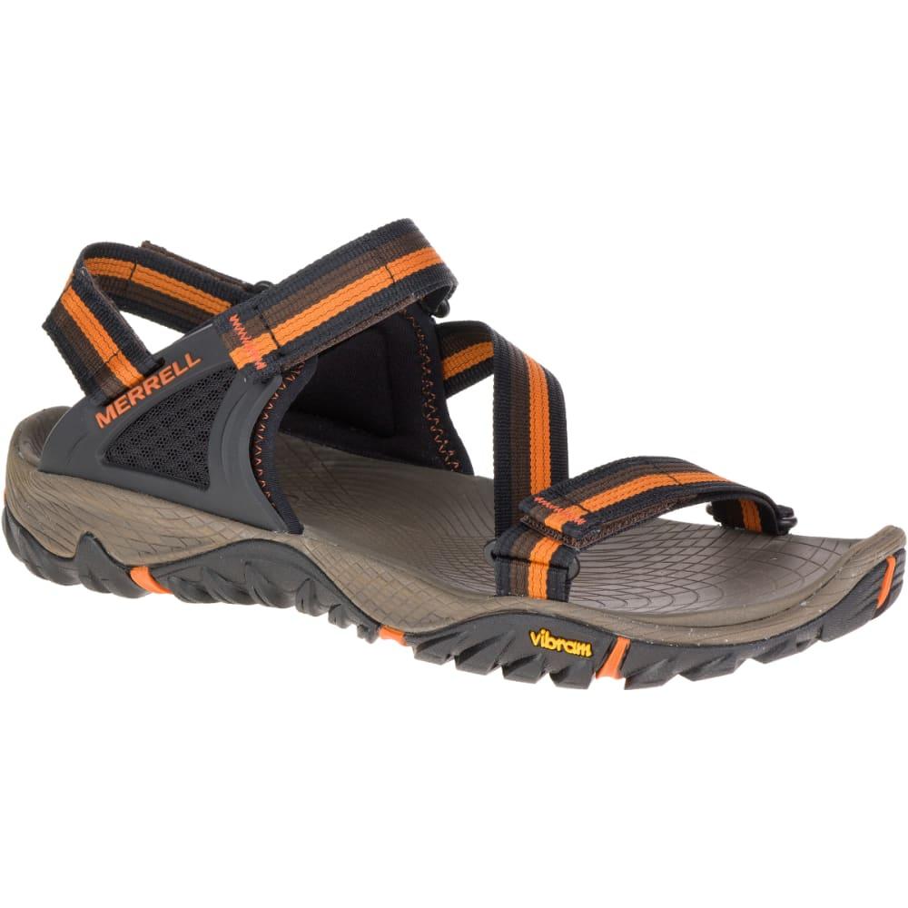MERRELL Men's All Out Blaze Web Sandals, Slate Black - SLATE