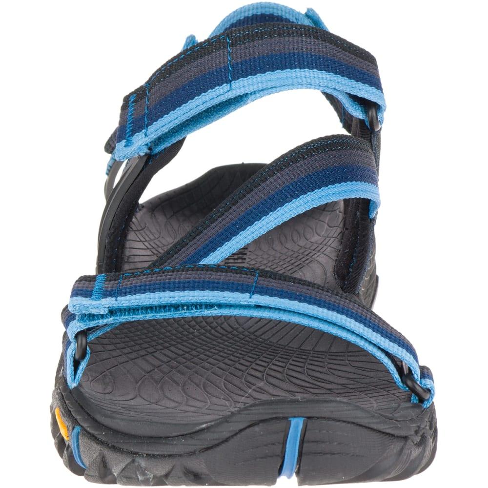 MERRELL Men's All Out Blaze Web Sandals, Ebony - EBONY
