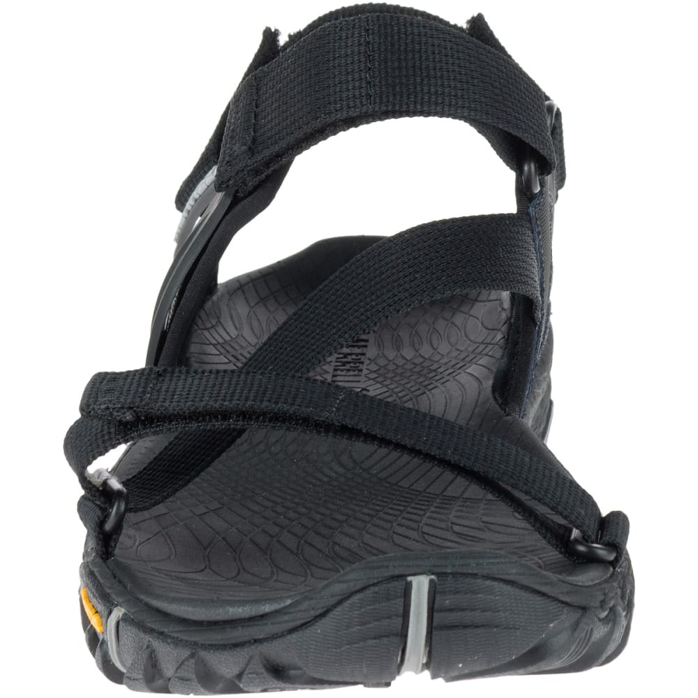 MERRELL Men's All Out Blaze Web Sandals, Black - BLACK