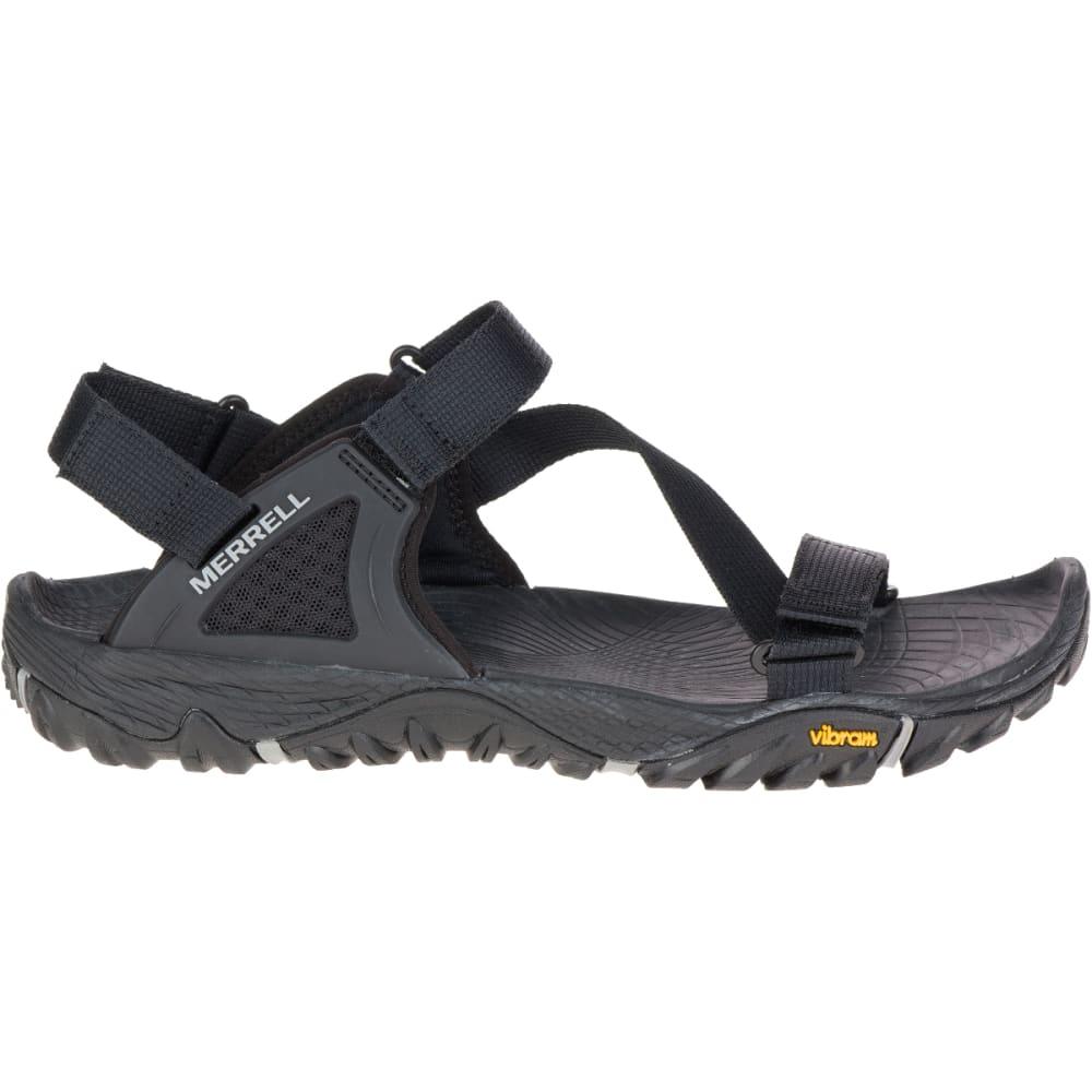 MERRELL Men's All Out Blaze Web Sandals, Black - BLACK