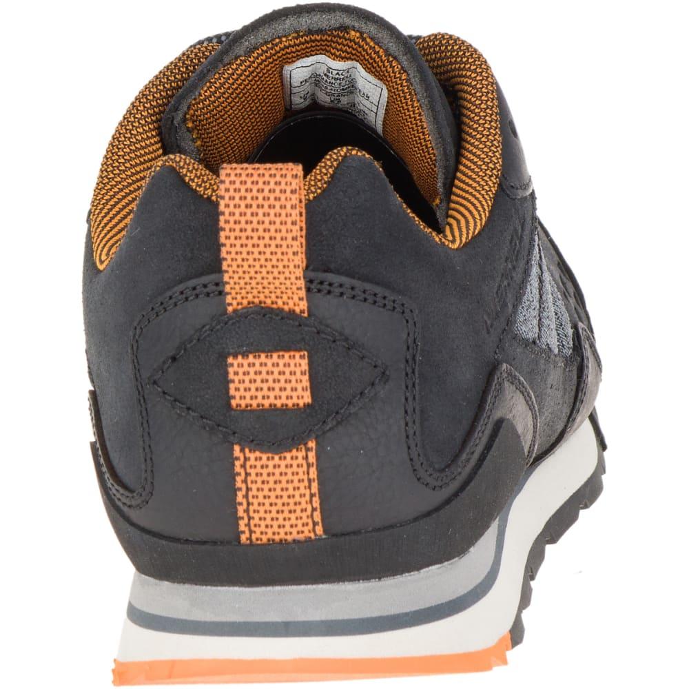MERRELL Men's Burnt Rock Casual Shoes, Black - BLACK