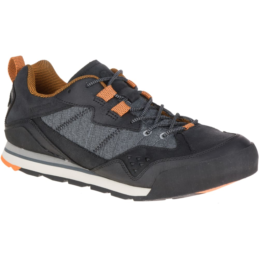 MERRELL Men's Burnt Rock Casual Shoes, Black - BLACK