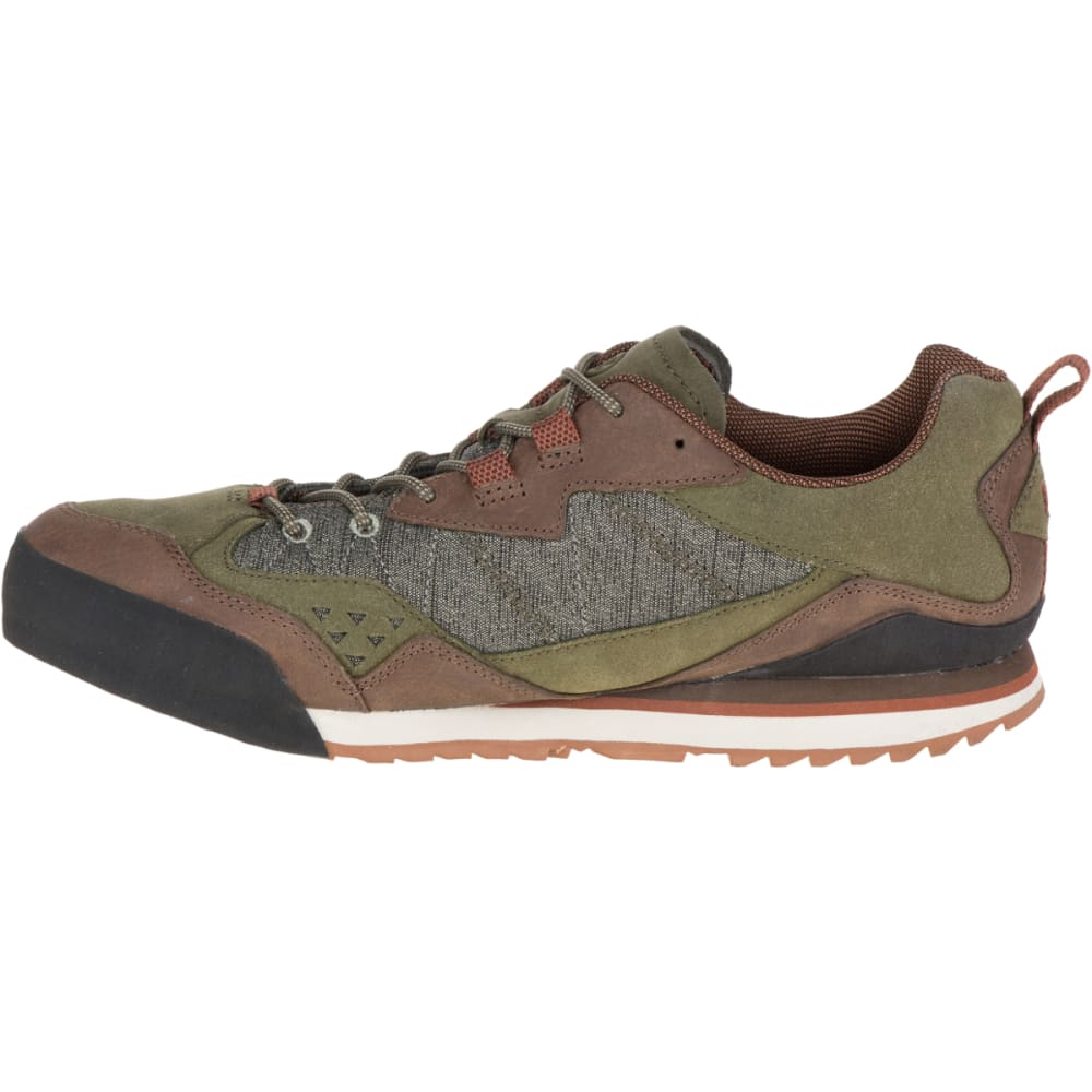 703b211365eb0 MERRELL Men's Burnt Rock Casual Shoes, Dusty Olive - DUSTY OLIVE