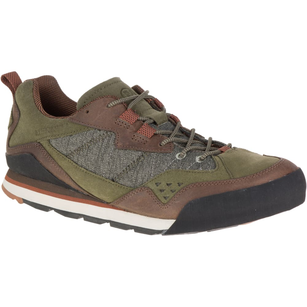 Merrell Men's Burnt Rock Casual Shoes, Dusty Olive - Green - Size 7 J91249