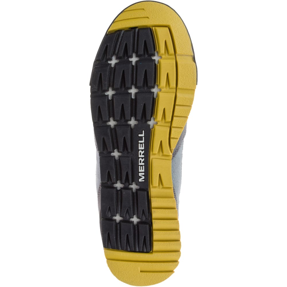 MERRELL Men's Burnt Rock Casual Shoes, Castlerock - CASTLEROCK