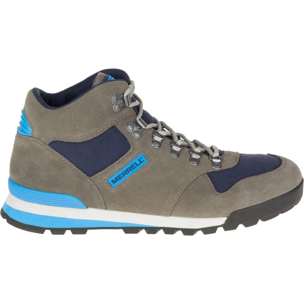 MERRELL Men's Eagle Hiking Boots, Walnut - WALNUT