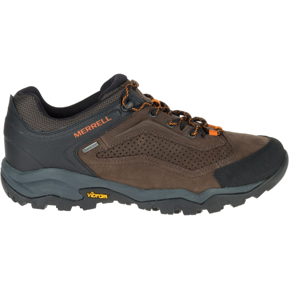 MERRELL Men's Everbound GORE-TEX Waterproof Hiking Shoes, Dark Earth - DARK EARTH