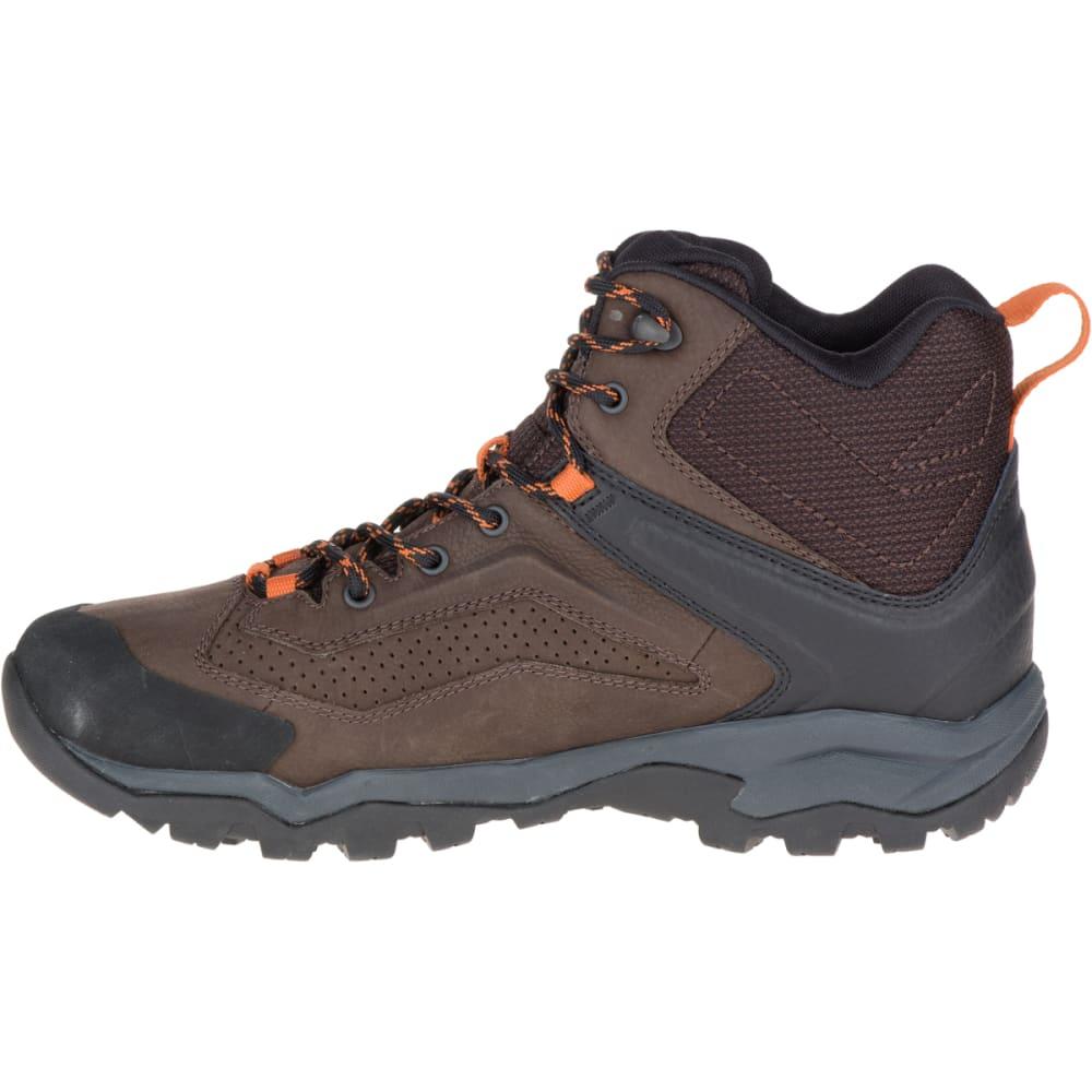 MERRELL Men's Everbound Mid GORE- TEX Hiking Boots, Dark Earth - DARK EARTH