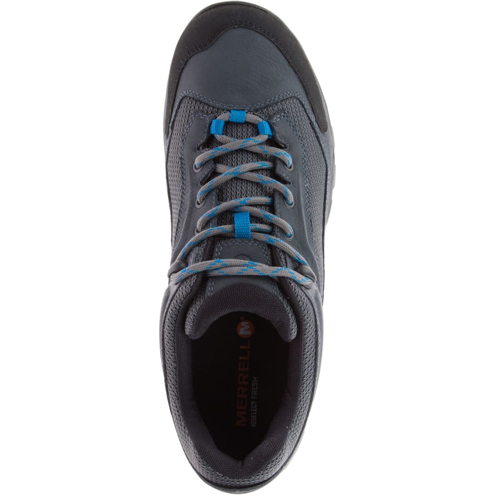 MERRELL Men's Everbound Ventilator Waterproof Hiking Shoes, Turbulance - TURBULANCE