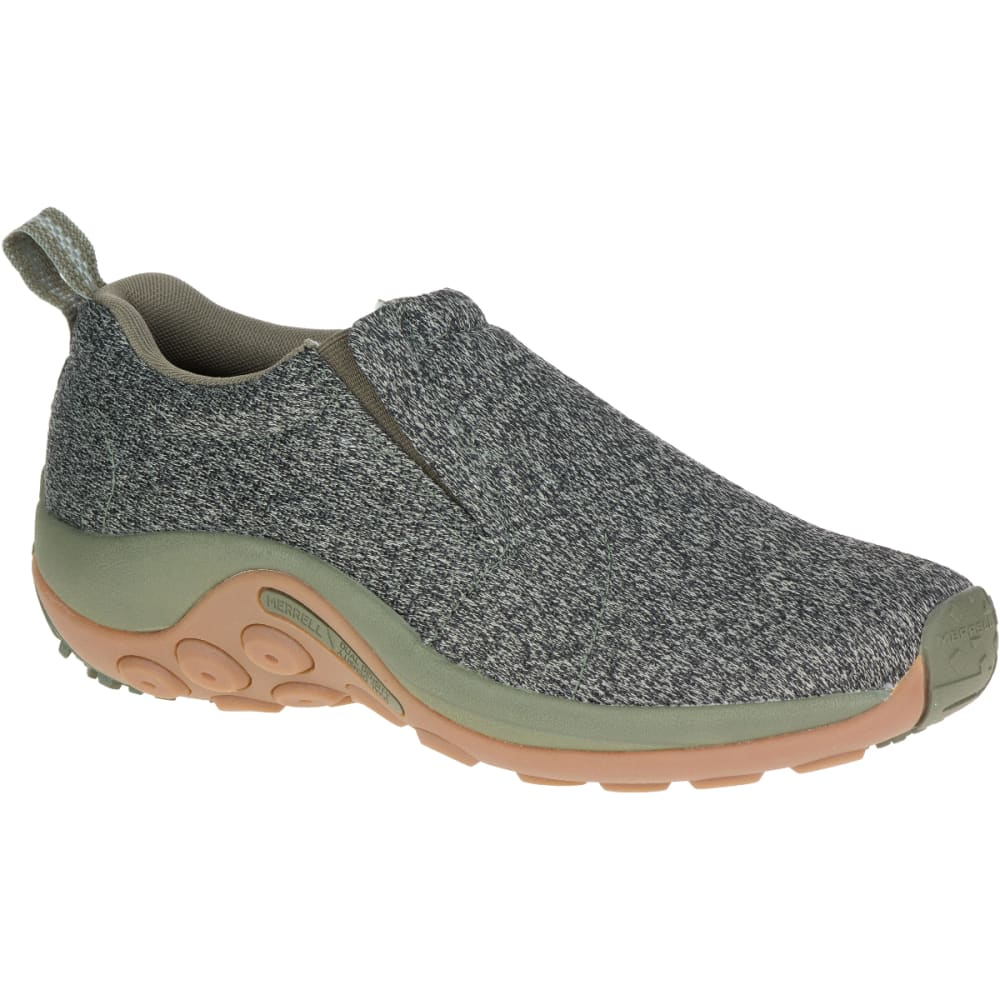 MERRELL Men's Jungle Moc Mesh Casual Shoes, Dusty Olive - DUSTY OLIVE