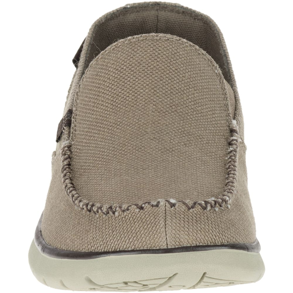 MERRELL Men's Laze Hemp Moc Casual Shoes, Boulder - BOULDER