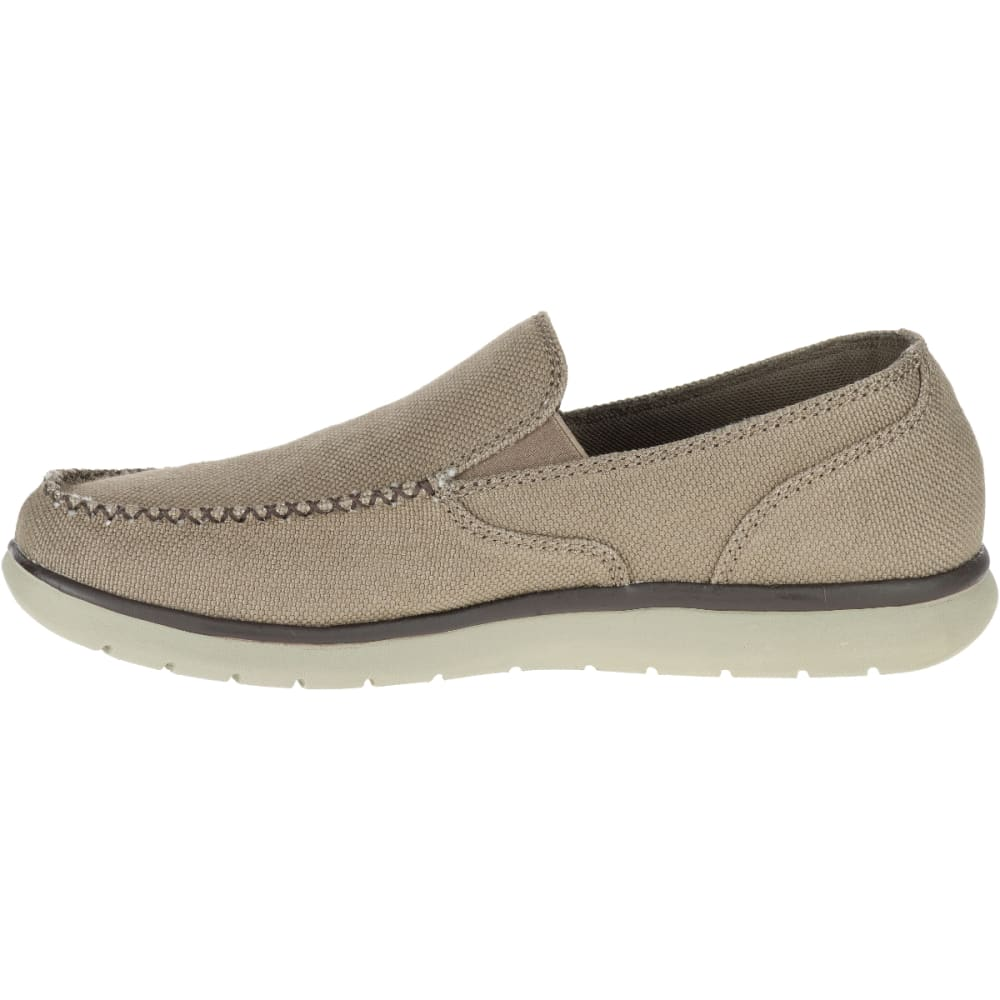 MERRELL Men's Laze Hemp Moc Casual Shoes, Boulder - BOULDER