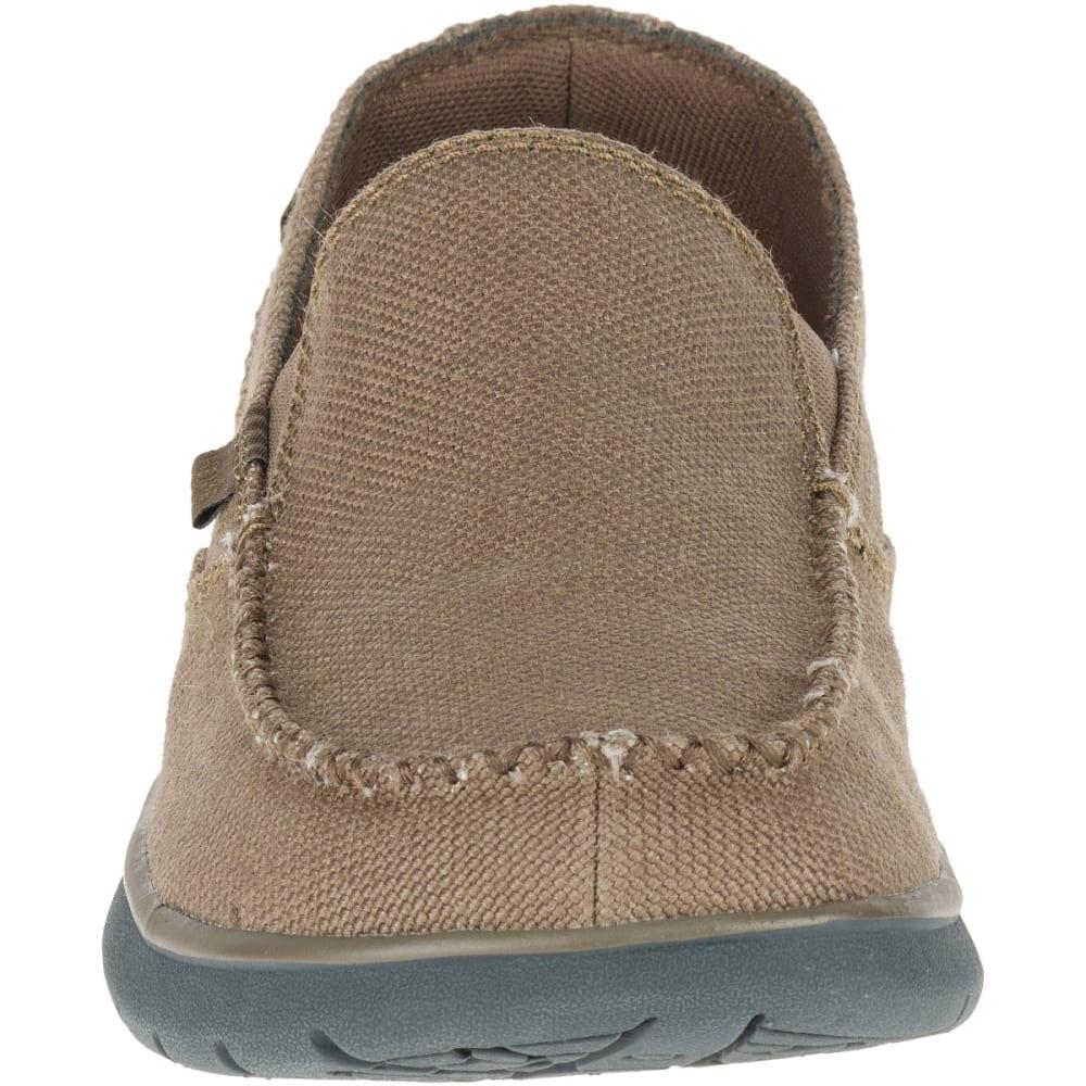 MERRELL Men's Laze Hemp Moc Casual Shoes, Otter - OTTER