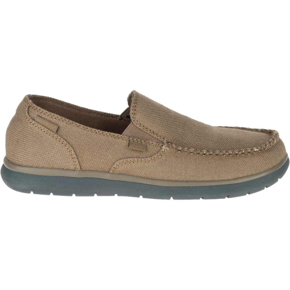 MERRELL Men's Laze Hemp Moc Casual Shoes, Otter - OTTER