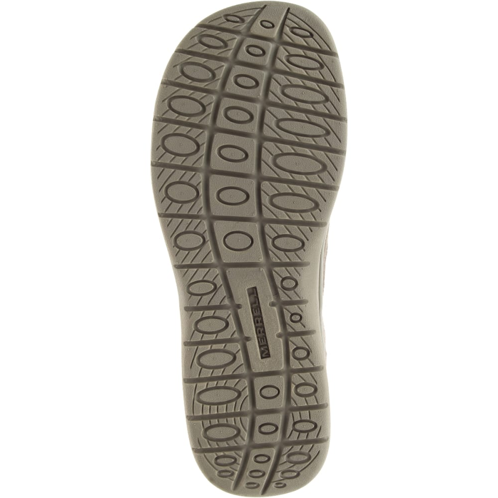 MERRELL Men's Laze Moc Casual Shoes, Boulder - BOULDER