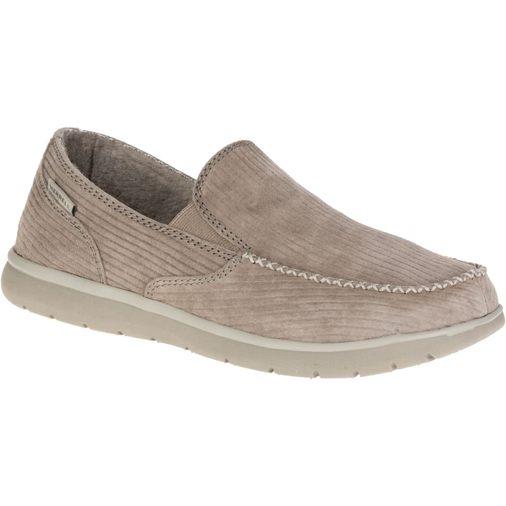MERRELL Men's Laze Moc Casual Shoes, Boulder - BOULDER