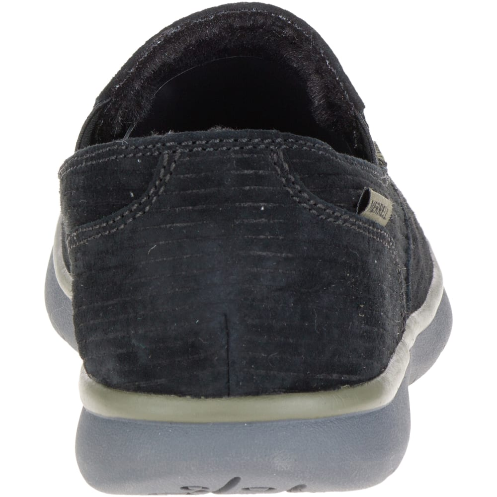 MERRELL Men's Laze Moc Casual Shoes, Black - BLACK