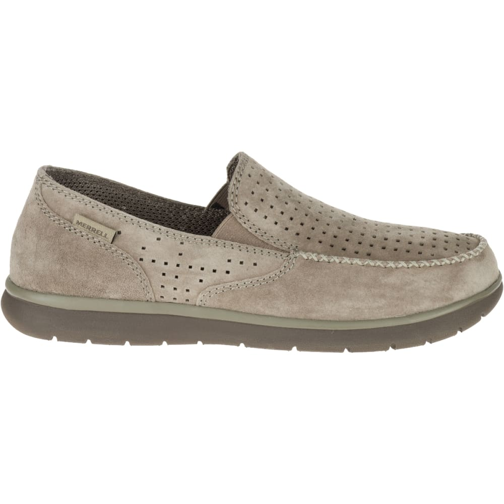 MERRELL Men's Laze Perf Moc Casual Shoes, Boulder - BOULDER