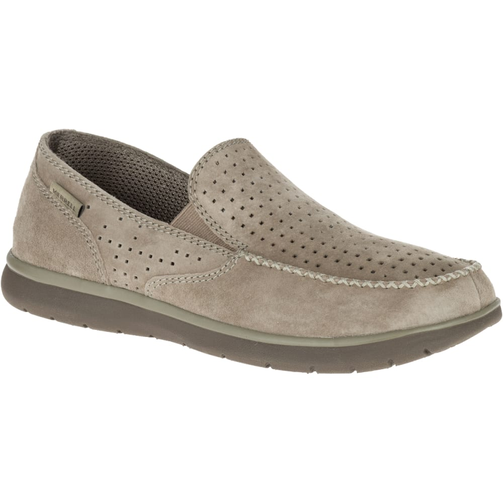 MERRELL Men's Laze Perf Moc Casual Shoes, Boulder - BOULDER