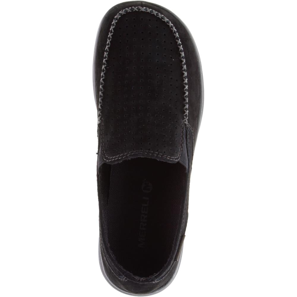 MERRELL Men's Laze Perf Moc Casual Shoes, Black - BLACK