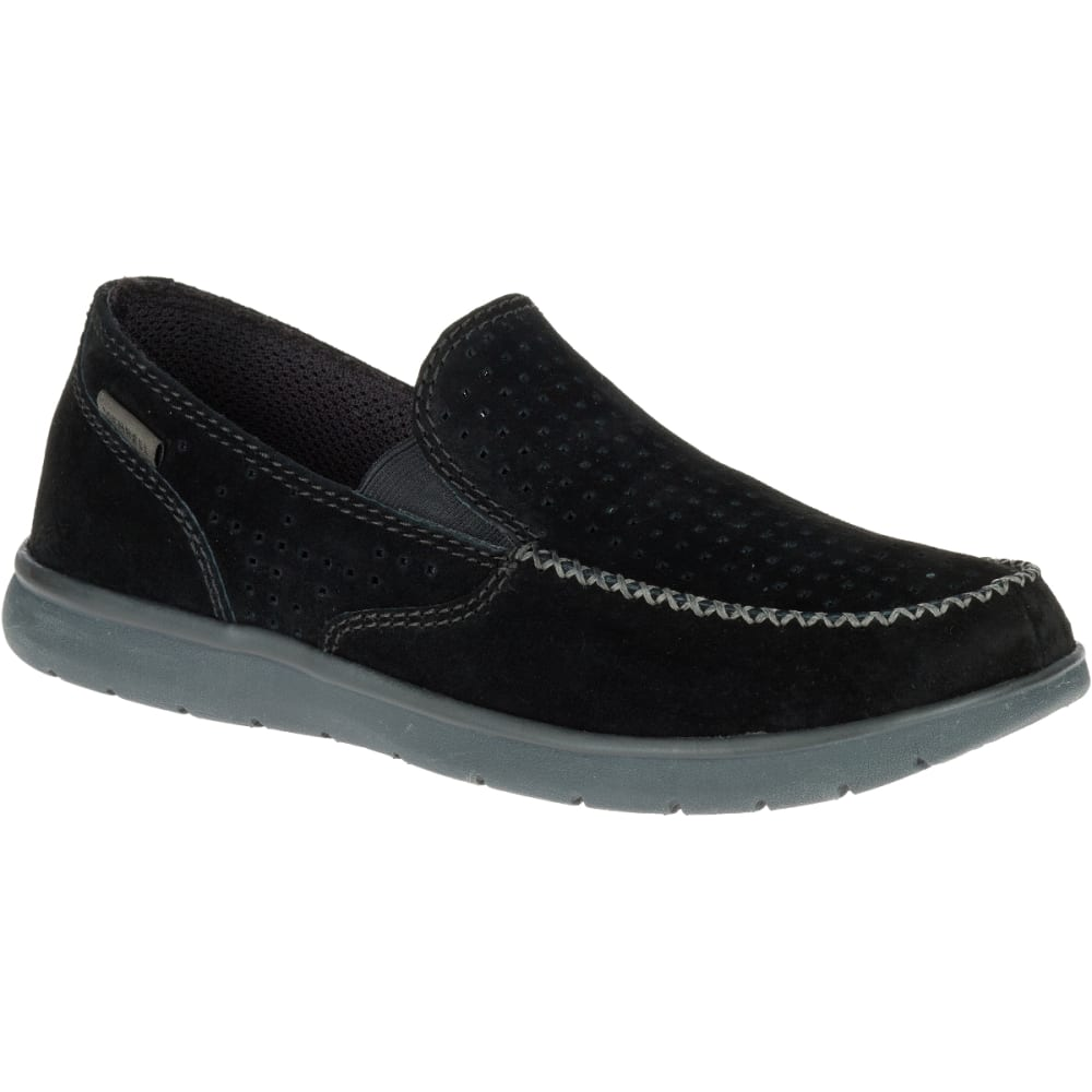 MERRELL Men's Laze Perf Moc Casual Shoes, Black - BLACK
