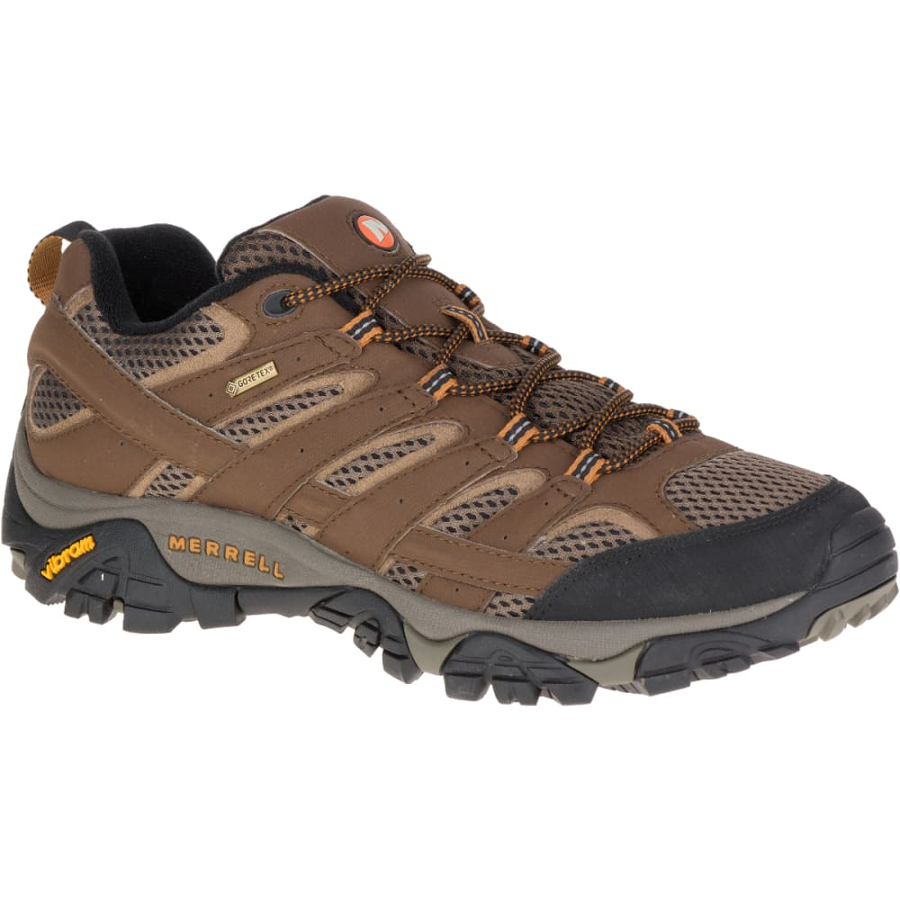 MERRELL Men's Moab 2 GORE- TEX Hiking Shoes, Earth 7