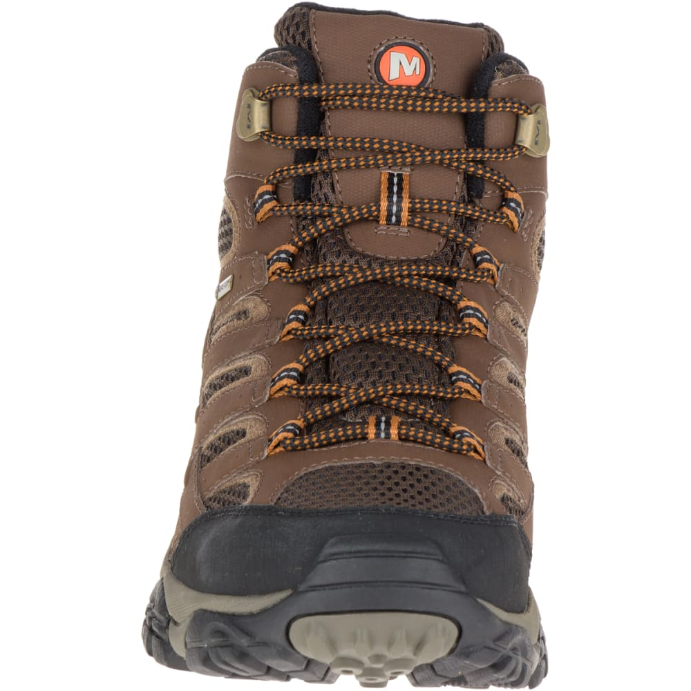 MERRELL Men's Moab 2 Mid GORE- TEX Hiking Boots, Earth - EARTH