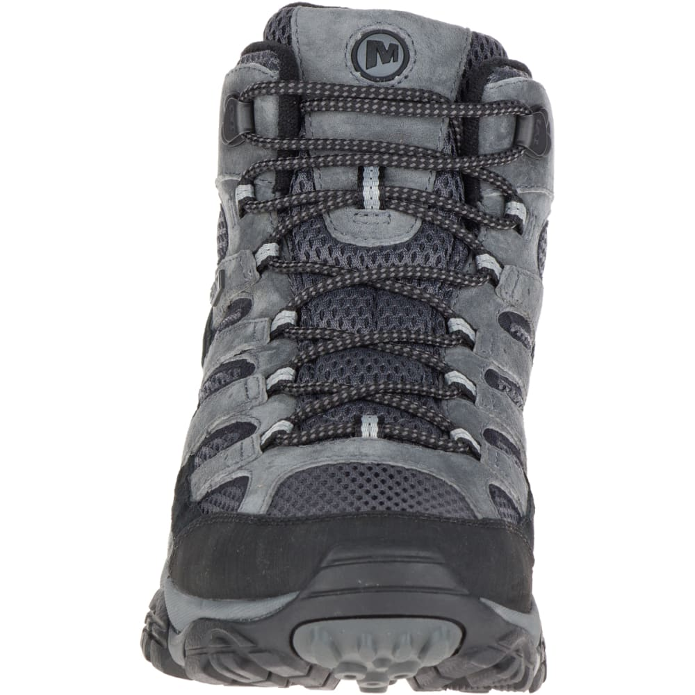 MERRELL Men's Moab 2 Mid Waterproof Hiking Boots, Granite - GRANITE