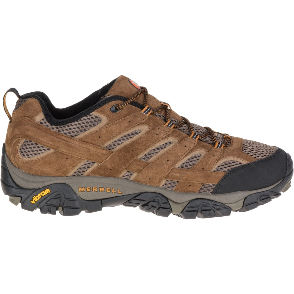 MERRELL Men's Moab 2 Ventilator Hiking Shoes, Earth - EARTH
