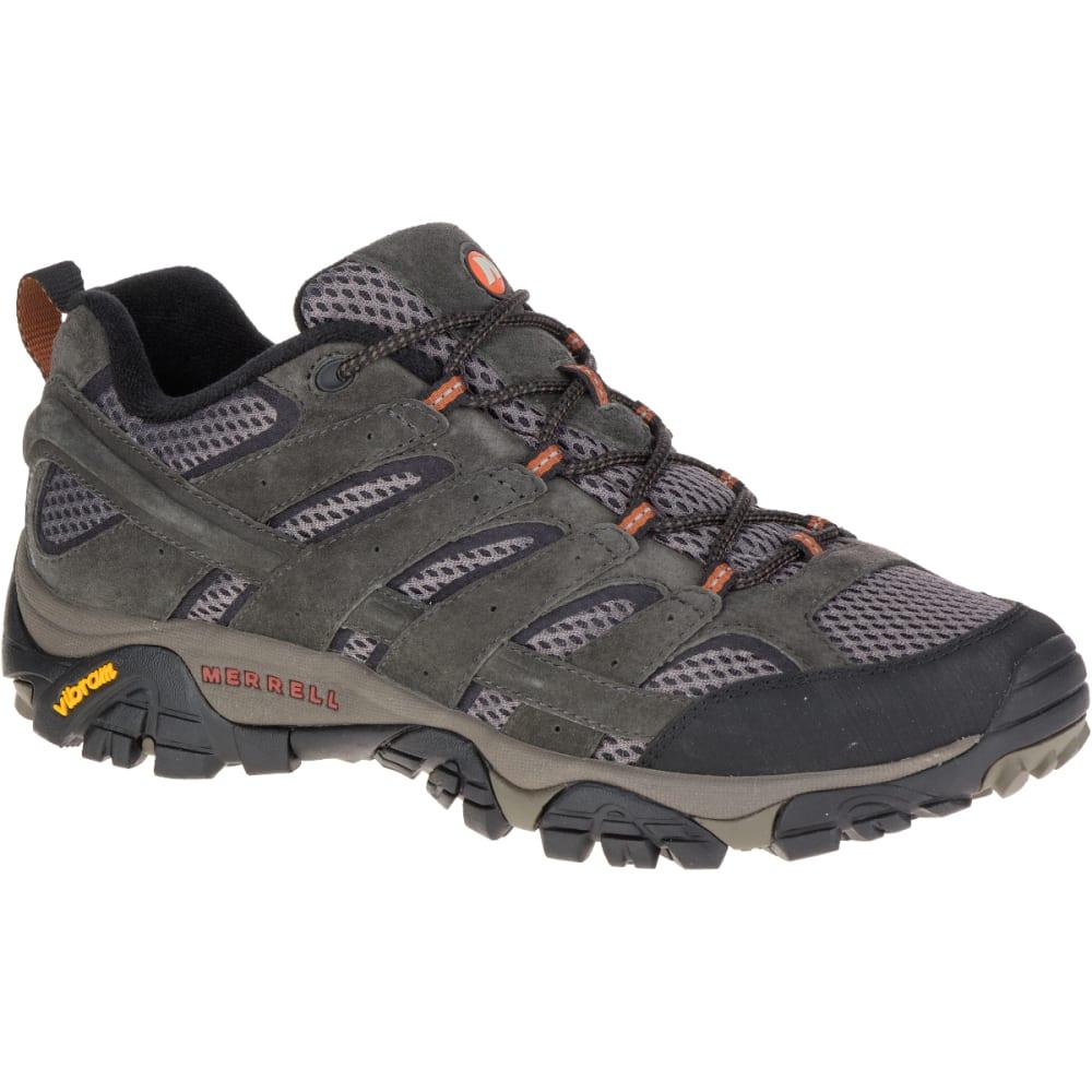 MERRELL Men's Moab 2 Ventilator Hiking Shoes, Beluga 10.5