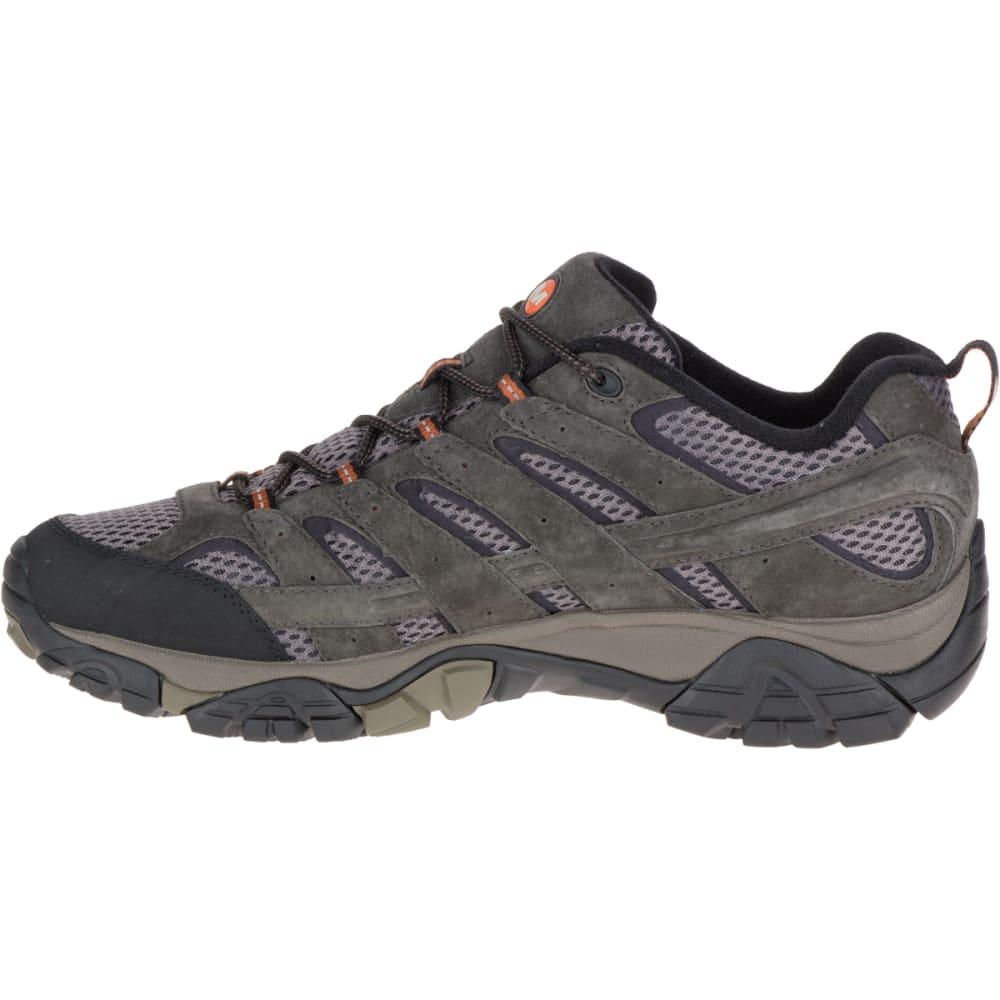 MERRELL Men's Moab 2 Ventilator Hiking Shoes, Beluga, Wide - BELUGA