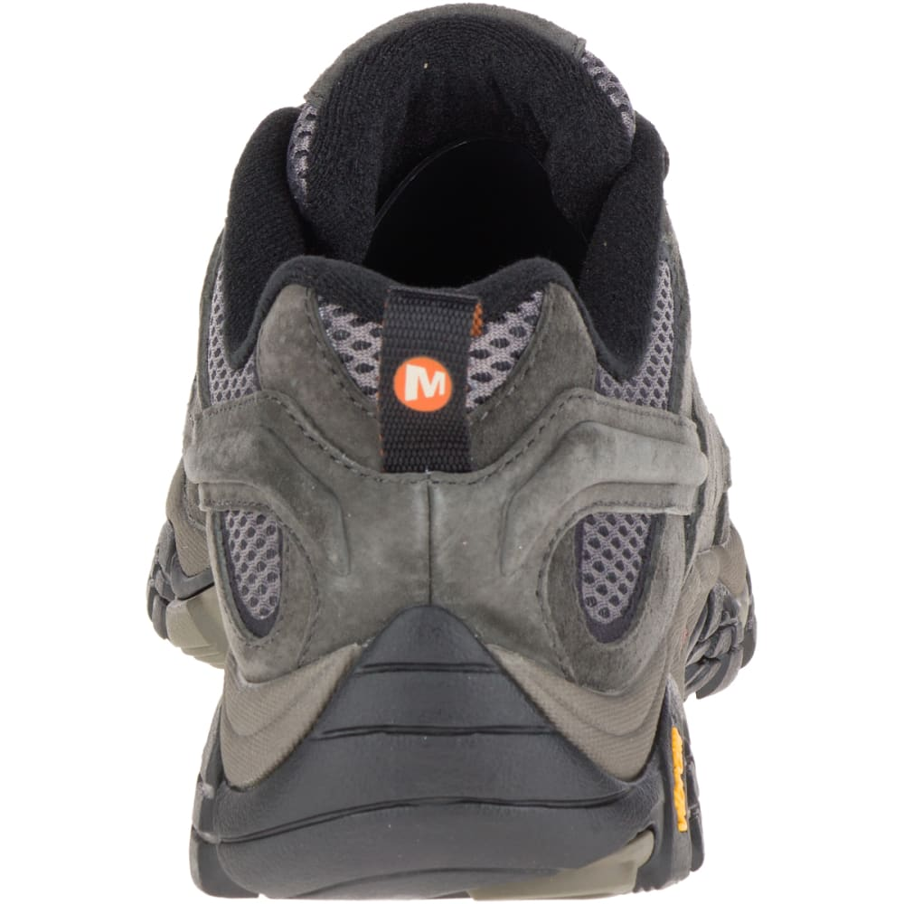 MERRELL Men's Moab 2 Ventilator Hiking Shoes, Beluga, Wide - BELUGA
