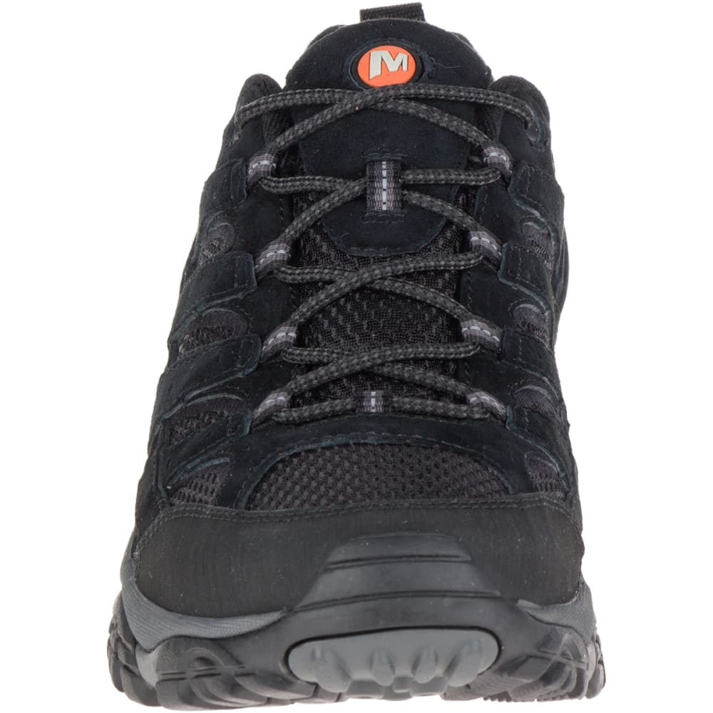 MERRELL Men's Moab 2 Ventilator Hiking Shoes, Black Night - BLACK NIGHT