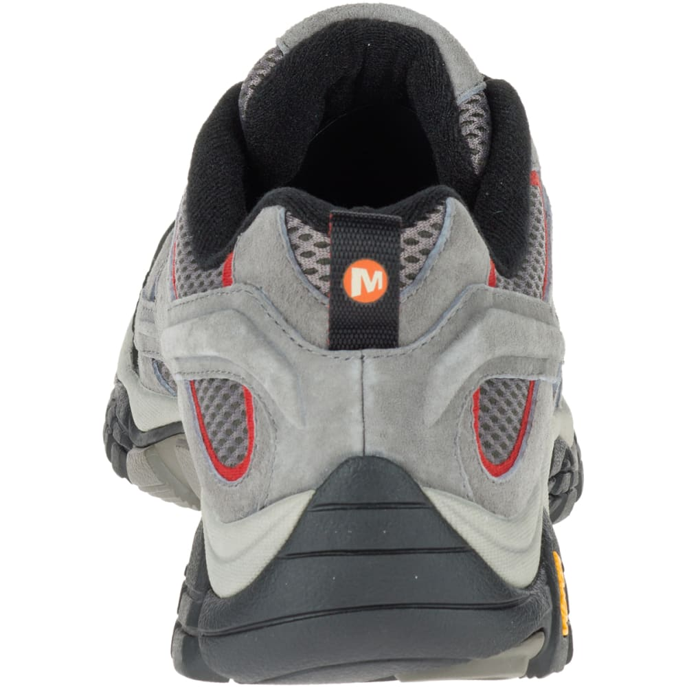 MERRELL Men's Moab 2 Ventilator Hiking Shoes, Charcoal Grey - CHARCOAL GREY