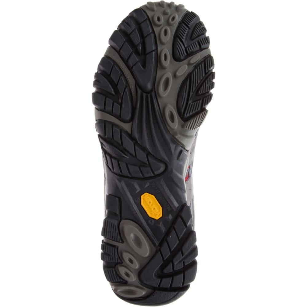 MERRELL Men's Moab 2 Ventilator Hiking Shoes, Charcoal Grey - CHARCOAL GREY