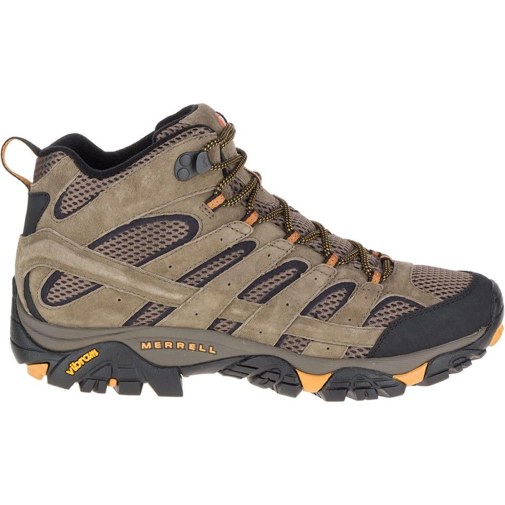 6a4effdeb6a MERRELL Men's Moab 2 Ventilator Mid Hiking Boots, Walnut