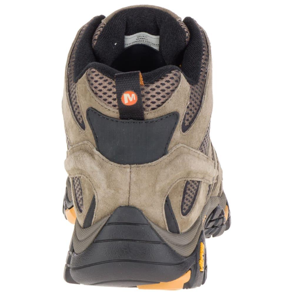 MERRELL Men's Moab 2 Ventilator Mid Hiking Boots, Walnut, Wide - WALNUT