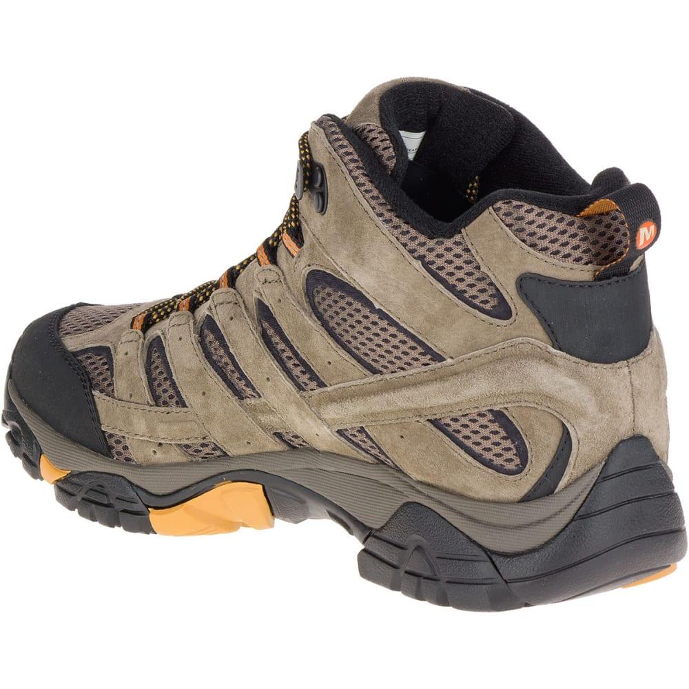 0e890e01aca MERRELL Men's Moab 2 Ventilator Mid Hiking Boots, Walnut, Wide