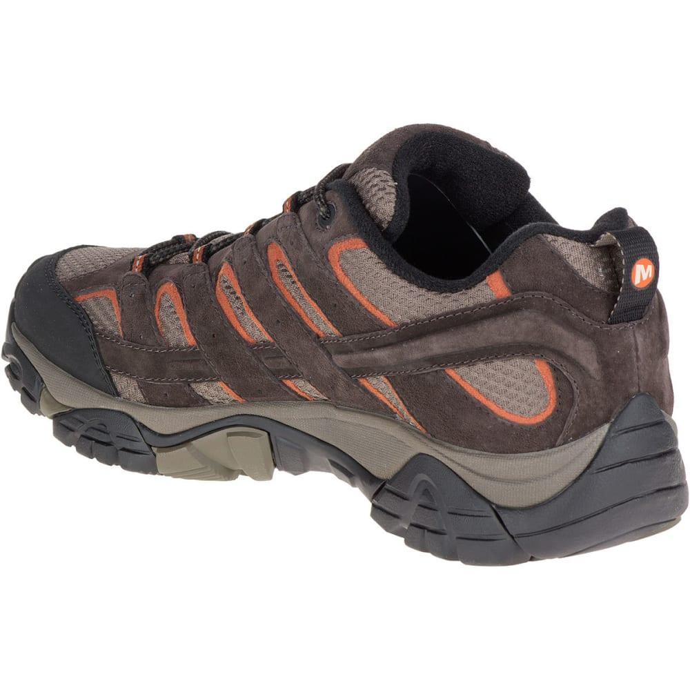 MERRELL Men's Moab 2 Waterproof Hiking Shoes, Espresso - ESPRESSO