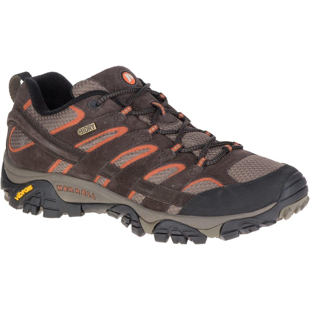 MERRELL Men's Moab 2 Waterproof Hiking Shoes, Espresso 7